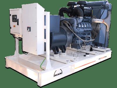 Man Diesel Generator